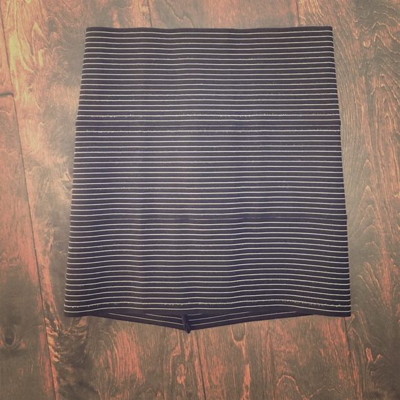 607c1e1da9 Pleasure Doing Business Skirts | Stripe Bandage Skirt | Poshmark