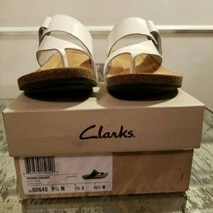 44516b609939b Clarks Shoes - Clarks Womens Perri Coast Wedge Sandal