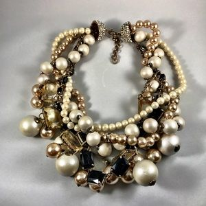 Lulu Frost Jewelry - Bold pearl statement necklace