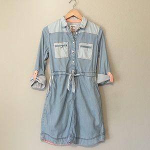 Anthropologie Jean Shirt Dress