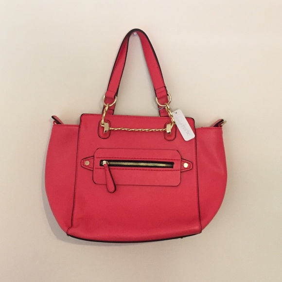 Handbags - NWT Bright Coral Purse