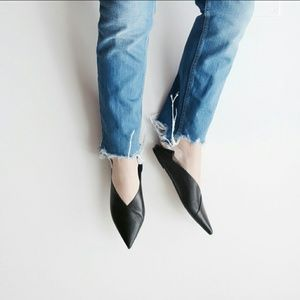 Zara Shoes - ✨HPx5✨ ZARA leather babouches