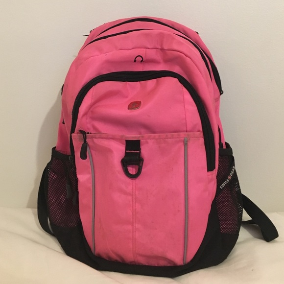 50% off Swiss Gear Handbags - Hot Pink Swiss Gear Backpack from ...