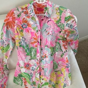 Lilly Pulitzer for Target Tops - Lilly Pulitzer for Target button up