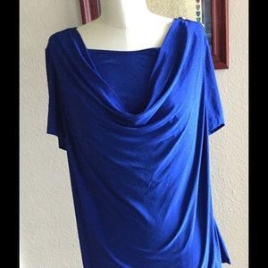American city wear Tops - New American City Cowlneck Top Size 2X