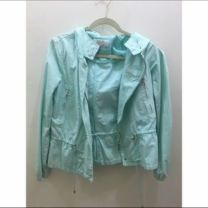 ZARA LIGHT BLUE JACKET - M