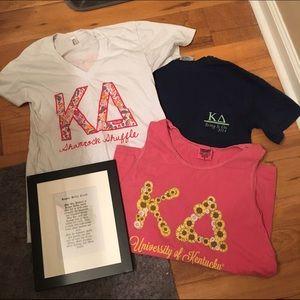 Comfort Colors Tops - Kappa Delta Shirt Bundle Size Small