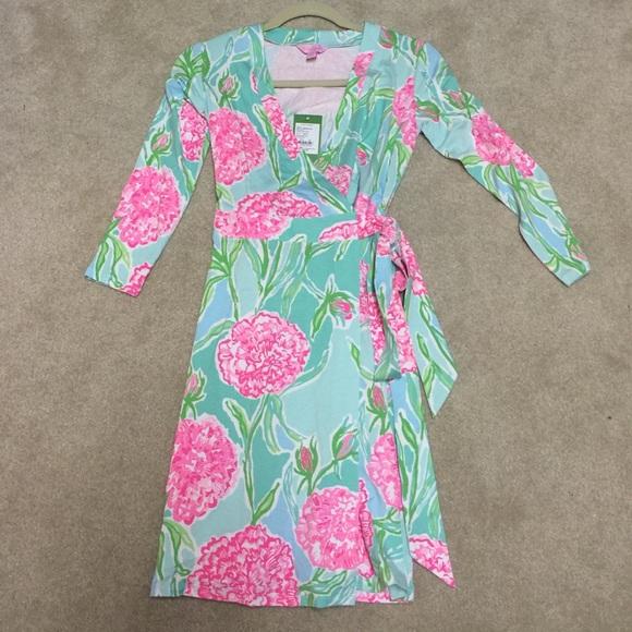 4451f70f8ca038 Lilly Pulitzer Dresses   Meridan Wrap Dress   Poshmark