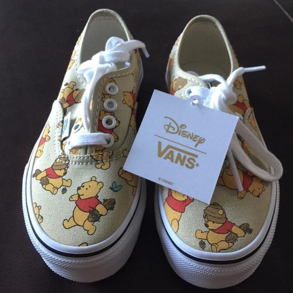 3f32d0ded668de NWT Unisex Disney Vans Winnie the Pooh Collection