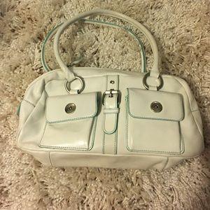 White HYPE summer satchel