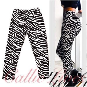 Callie Lives Pants - COMING SOON: Plus Size Zebra Mommy & Me Leggings