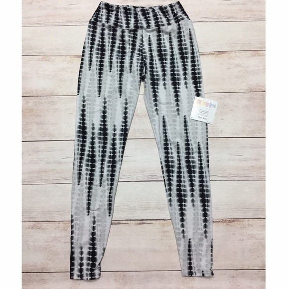 2a23f325d4a28 LuLaRoe Pants | Os Tie Dye Gray Black Unicorn Leggings | Poshmark