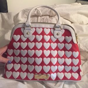 Betsey Johnson Heart Purse