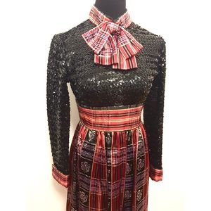 Vintage Dresses & Skirts - Gorgeous vintage Gucci like evening gown