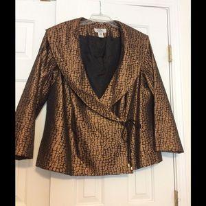 Patre Woman Jackets & Blazers - Beautiful Metallic evening jacket