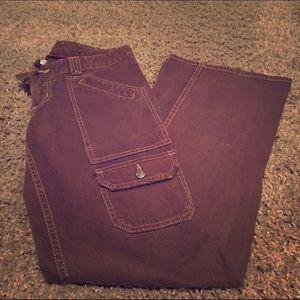 Joie Flap Pocket Flair Jeans
