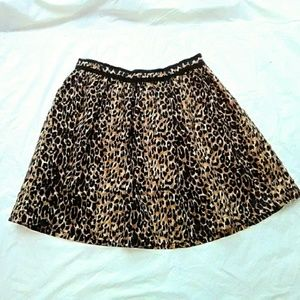 Lucca Couture Dresses & Skirts - Lucca Couture Leopard Print Skirt NWOT