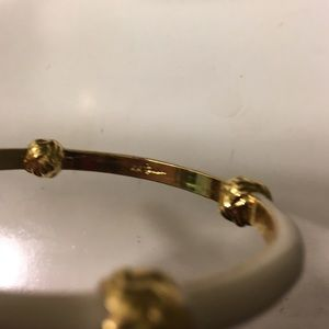 Lilly Pulitzer Jewelry - Lilly Pulitzer white and gold bracelet