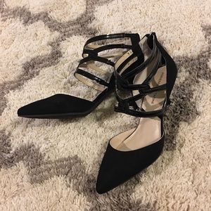 Brand new Adrienne Vittadini suede pumps