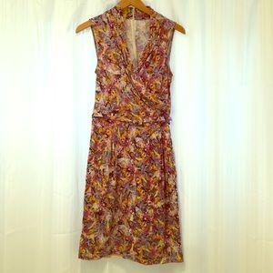 Catherine Malandrino Dresses & Skirts - Catherine Malandrino Flowered Belted Dress