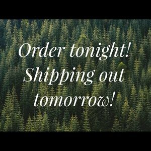 ALL ORDERS FROM MY CLOSET SHIP TOMORROW! 
