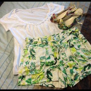 a.n.a Pants - Tropical Summer Shorts