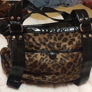 Aldo Handbags - Leopard Purse from Aldo (Furry)