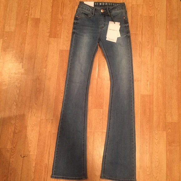 80% off Cotton On Denim - NWT COTTON ON MIDRISE FLARE JEANS from ...