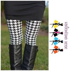 Pants - Houndstooth buttery smooth leggings