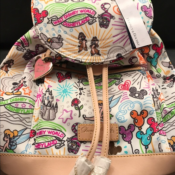 7a75eced71 Disney dooney and Bourke sketch backpack new