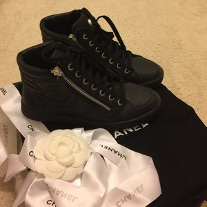 Chanel sneakers.