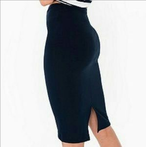 64% off American Apparel Dresses & Skirts - JACQUARD MID-LENGTH ...