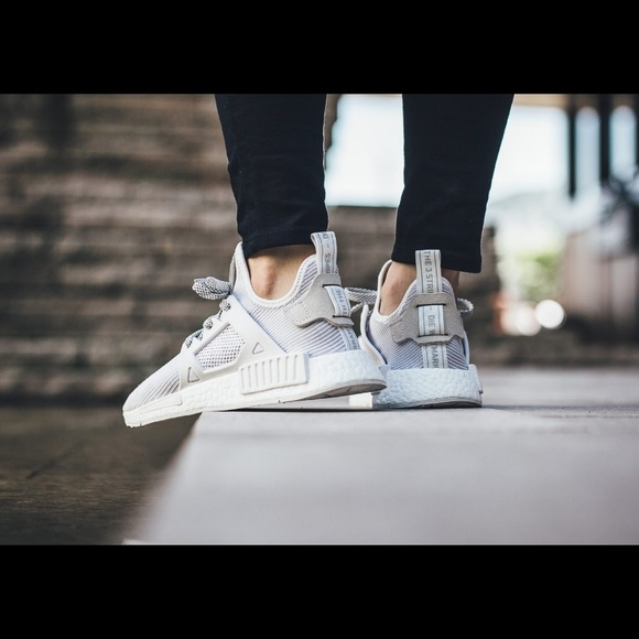 Adidas Men's and Women's Originals NMD XR1 Primeknit 'Glitch
