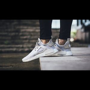le adidas nmd rt pk w vintage white primeknit poshmark