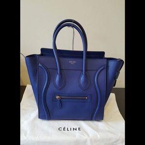 celine Handbags - 💥📢💥 REDUCE💥💥Auth Celine Micro Luggage 🔵🔵🔵
