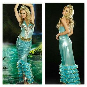 Sea Queen  Halloween Costume mermaid dress