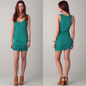Splendid Dresses & Skirts - Splendid striped Mini dress in green size XS