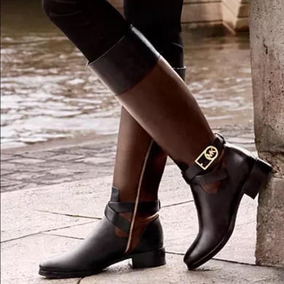 3419dcc37 Michael Kors Shoes   Bryce Tall Boot Wide Calf   Poshmark