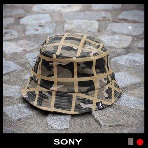 Kangol Other - Kangol Camo Check Bucket Hat