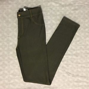 Angie Pants - 🆕🍂 Forrest Green Angie Jeggings Leggings