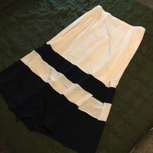 Colourblock ASOS Curve Maxi Skirt