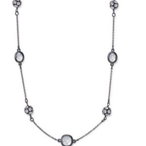 Stella & Dot Jewelry - NWT Stella & Dot Hematite Chelsea Necklace