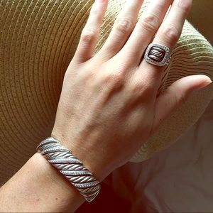 David Yurman Ring & Cuff Set