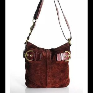 Gorgeous Coach Suede Crossbody