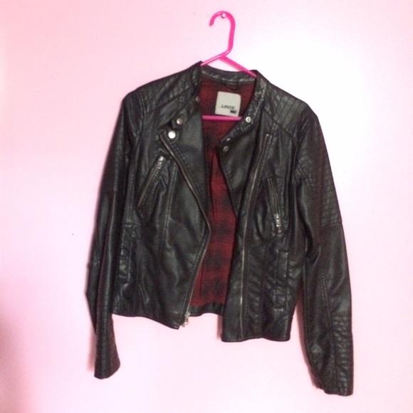 vintage levis leather jacket