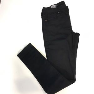 Super Skinny Regular Waist Stretchy Black Jeans