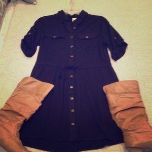 Paper Crane Dresses & Skirts - Paper Crane shirt dress