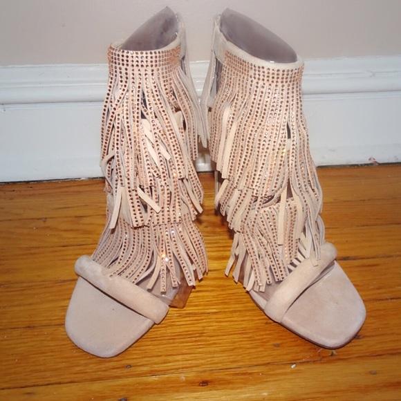 Steve Madden Shoes - BRAND NEW NUDE STEVE MADDEN FRINGLY