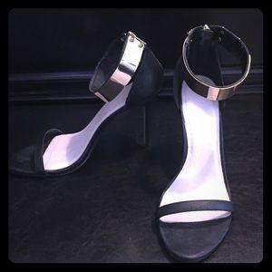 ASOS Gold Cuff Sandals