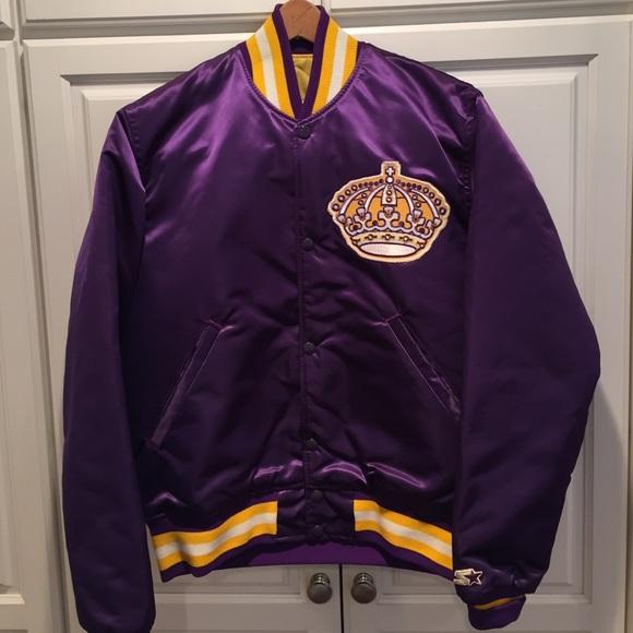 new style 5dedc 49931 Vintage LA Kings Starter Jacket